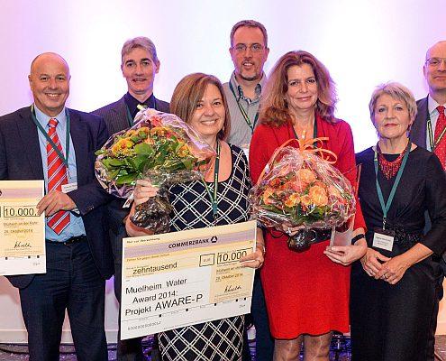 MWA Preisverleihung 2014 RWW Rheinisch-Westfälische Wasserwerksgesellschaft mbH