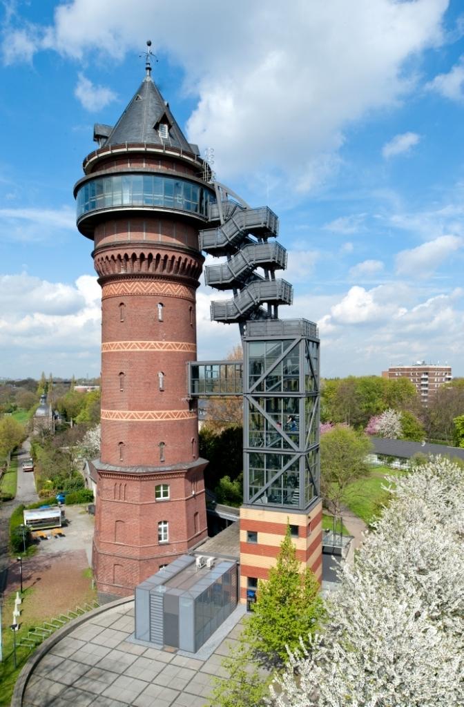 Aquariusturm Mülheim an der Ruhr, Foto RWW (A. Köhring) 2012