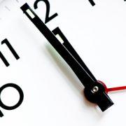 Die Zeit läuft, der countdown hat begonnen
