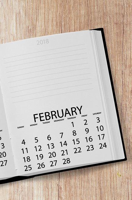 Kalenderbuch © pixabay 3045825