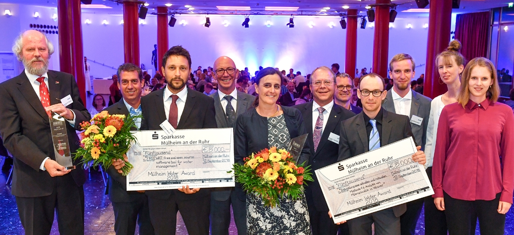 Mülheim Water Award ceremony 2018, RWW Andreas Köhring