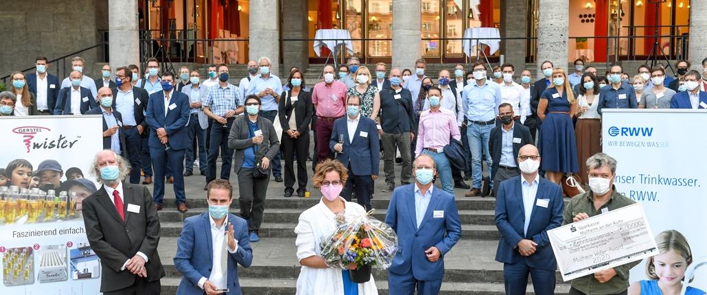 MWA 2020 Preisverleihung vor der Stadthalle Mülheim an der Ruhr (Foto RWW © Walter Köhring September 2020)