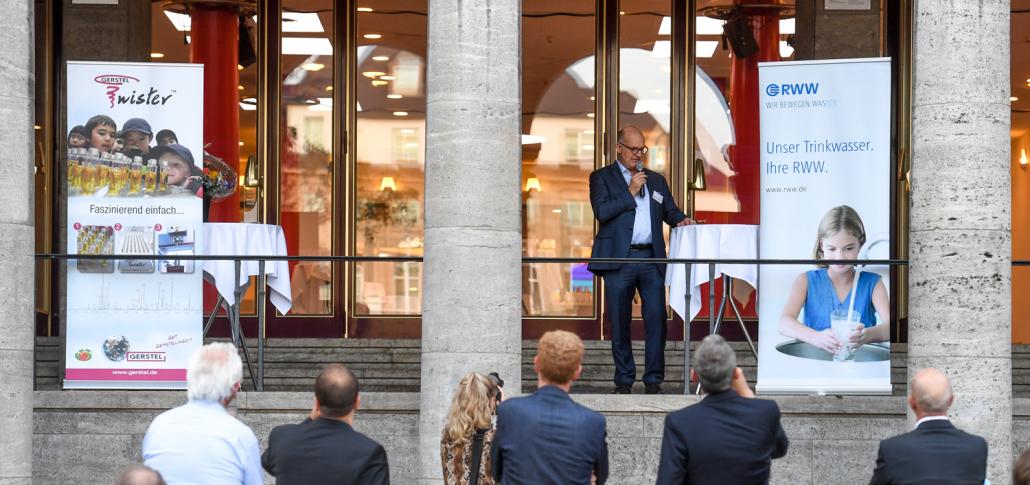 MWA 2020 Preisverleihung: Laudatio Dr. Franz-Josef Schulte (Foto RWW © Andreas Köhring, September 2020)