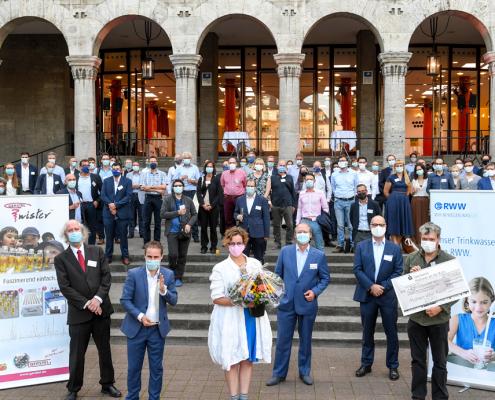 MWA 2020 Preisverleihung, Stadthalle Mülheim an der Ruhr (Foto RWW © Andreas Köhring, September 2020)